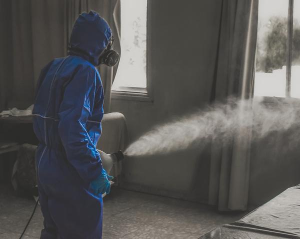 koronawirus - dezynfekcja mieszkania
